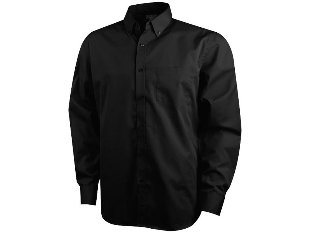 Рубашка Wilshire мужская с длинным рукавом, черный (артикул 38172992XL)