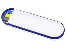 Набор Квартет: ручка шариковая, карандаш и маркер, белый/синий (артикул 349502)