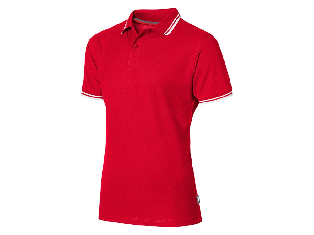 Рубашка поло Deuce мужская, красный (артикул 3310425XL)