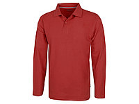 Рубашка поло Point мужская с длинным рукавом, красный (артикул 33106252XL), фото 1