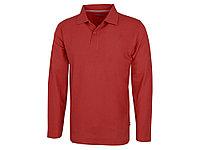 Рубашка поло Point мужская с длинным рукавом, красный (артикул 3310625L), фото 1