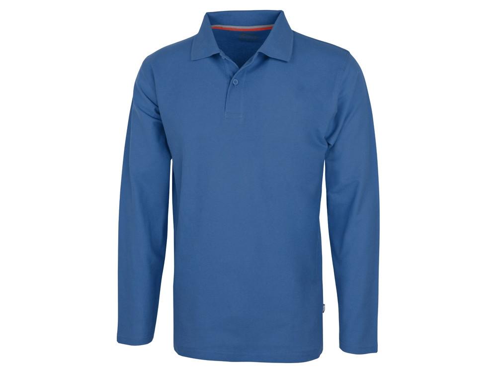 Рубашка поло Point мужская с длинным рукавом, небесно-голубой (артикул 3310642L)