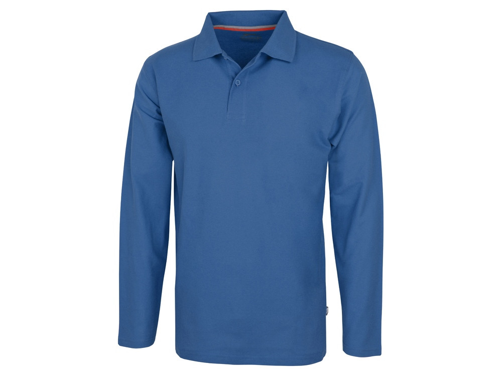 Рубашка поло Point мужская с длинным рукавом, небесно-голубой (артикул 3310642S)