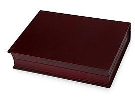 Подарочная коробка Браун, красное дерево/черный/золотистый (артикул 619409)