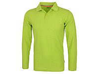 Рубашка поло Point мужская с длинным рукавом, зеленое яблоко (артикул 33106682XL), фото 1