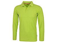 Рубашка поло Point мужская с длинным рукавом, зеленое яблоко (артикул 3310668L), фото 1