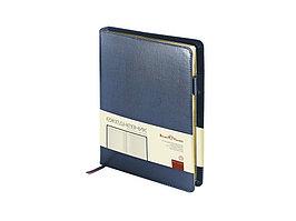 Ежедневник полудатированный портфолио А5  PROFY синий (артикул 3-073.01)