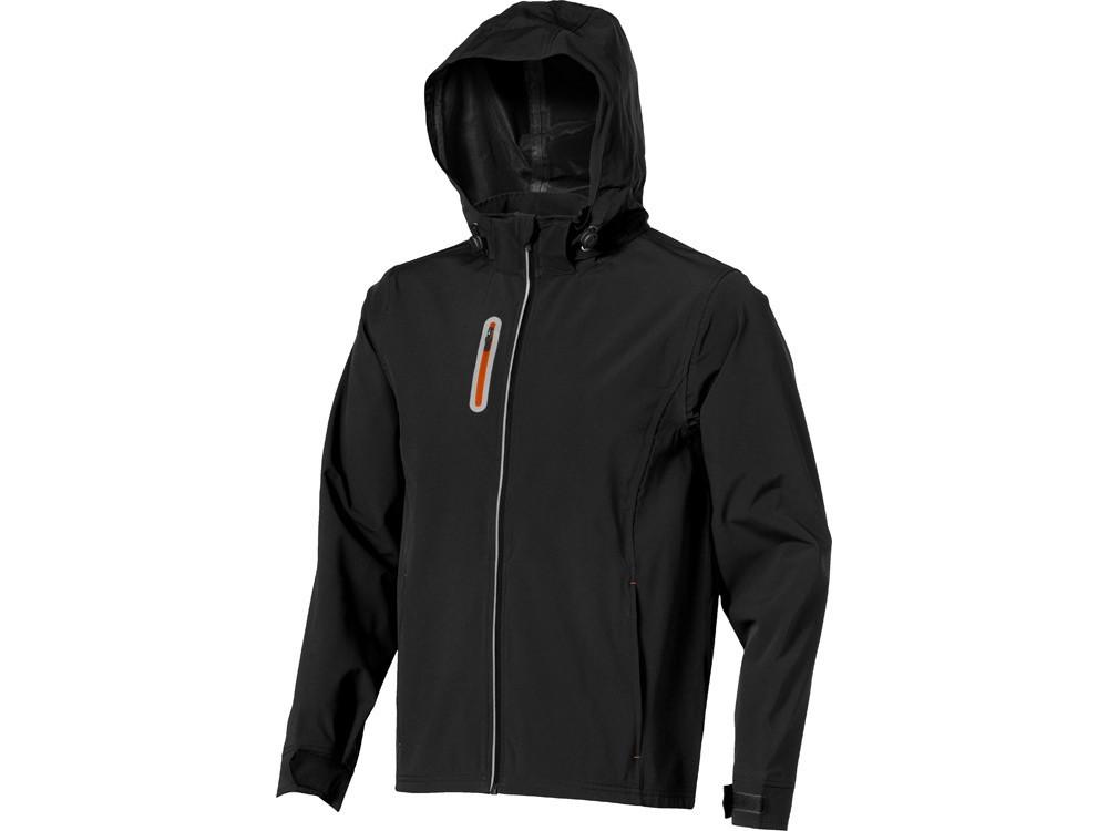 Куртка софтшел Howson мужская, черный (артикул 39315992XL)