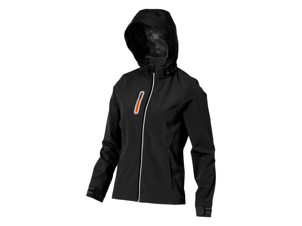 Куртка софтшел Howson женская, черный (артикул 3931699XS)