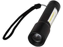 Компактный фонарь с лампой сбоку, черный (артикул 10431200)