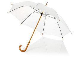 Зонт-трость Jova 23 классический, белый (артикул 10906800)