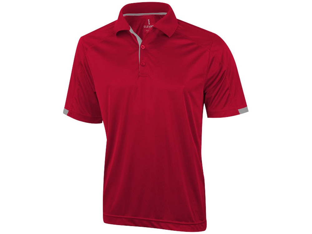 Рубашка поло Kiso мужская, красный (артикул 3908425XS)
