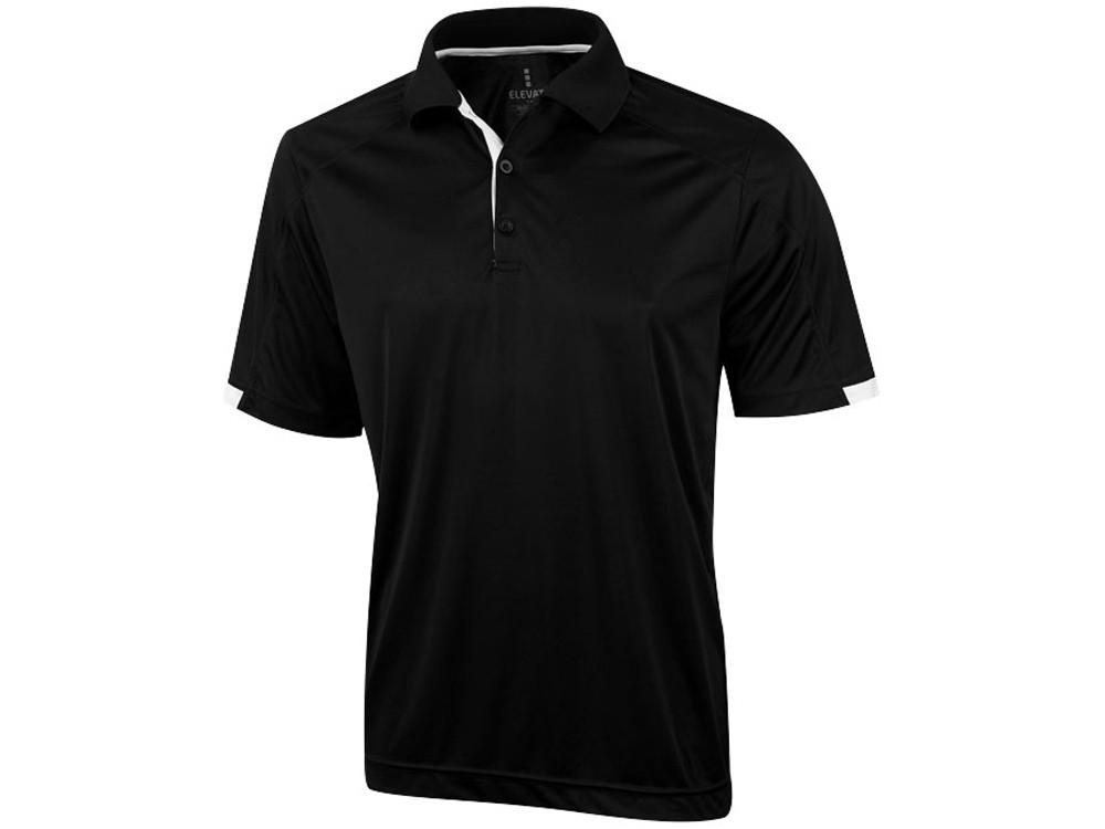 Рубашка поло Kiso мужская, черный (артикул 3908499XS)
