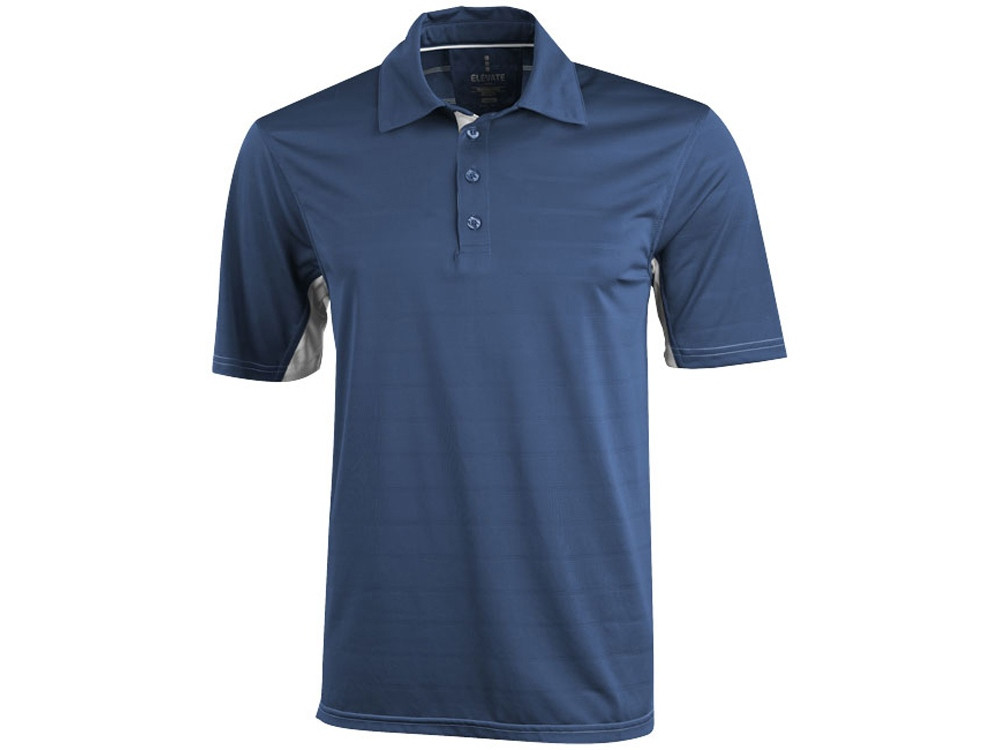 Рубашка поло Prescott мужская, джинс (артикул 3908646M)