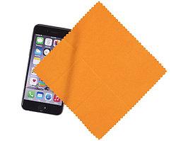 Салфетка из микроволокна, оранжевый (артикул 13424303)