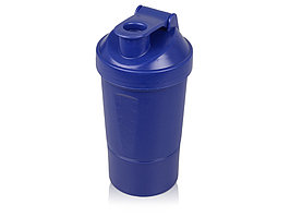 Шейкер для спортивного питания Level Up, синий (артикул 898402)