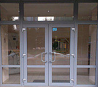 Утепленные наружные алюминиевые двери, фото 1