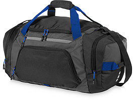 Спортивная сумка Milton, черный/темно-серый/ярко-синий (артикул 12012500)
