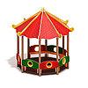 Беседка-пагода МФ 10.22.01 Карнавал, фото 2