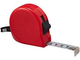 Рулетка Liam, 5м, красный (артикул 10449302)
