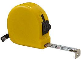 Рулетка Liam, 5м, желтый (артикул 10449304)