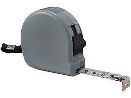 Рулетка Liam, 5м, серый (артикул 10449305)