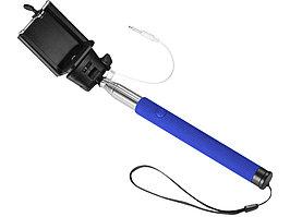 Монопод проводной Wire Selfie, ярко-синий (артикул 13416501)