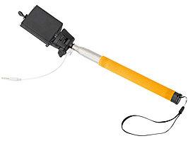 Монопод проводной Wire Selfie, оранжевый (артикул 13416505)