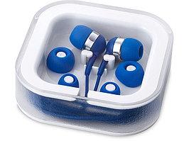 Наушники с микрофоном Sargas, ярко-синий (артикул 13416601)