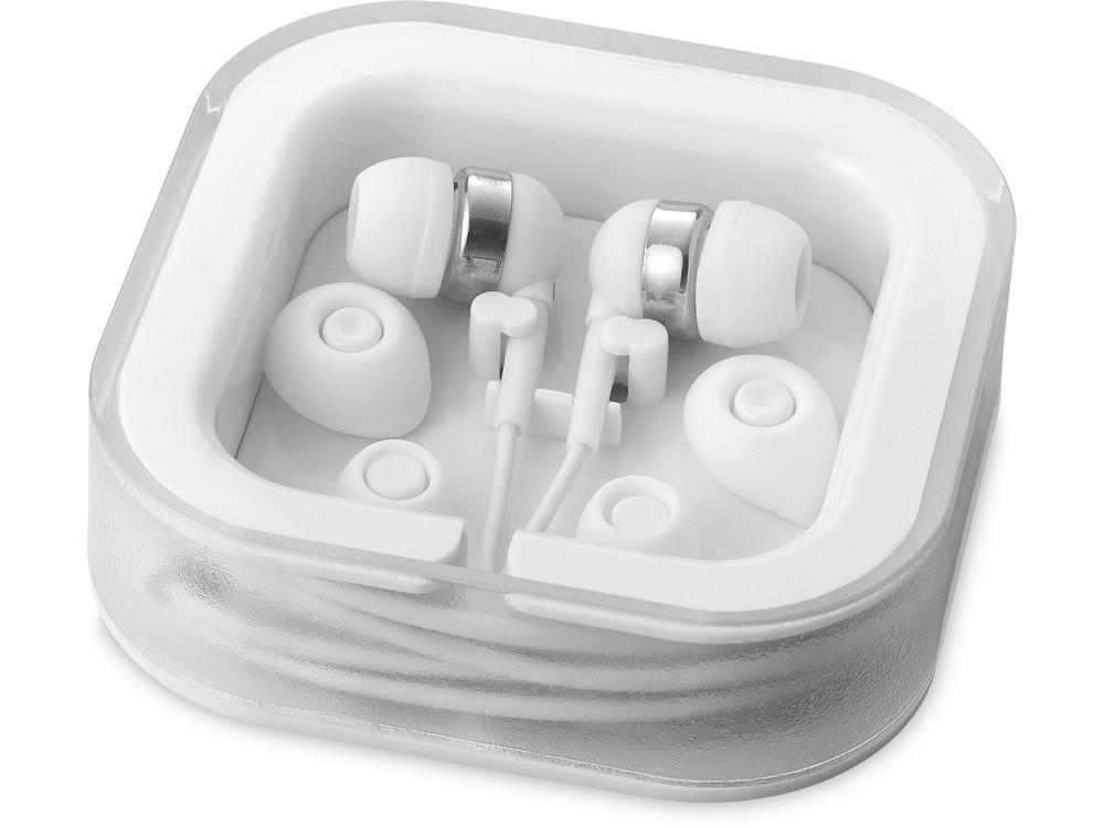 Наушники с микрофоном Sargas, белый (артикул 13416603)