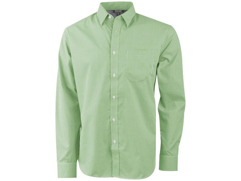 Рубашка Net мужская с длинным рукавом, зеленый (артикул 33160672XL)