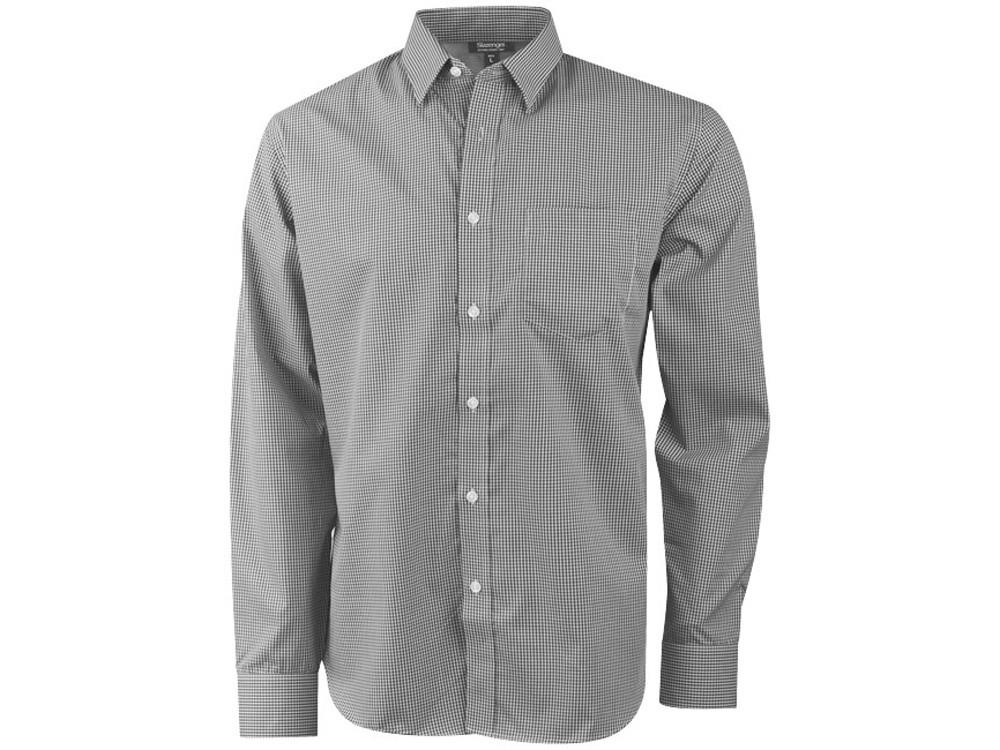 Рубашка Net мужская с длинным рукавом, серый (артикул 3316090L)