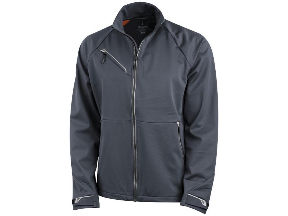 Куртка софтшел Kaputar мужская, темно-серый (артикул 3932589XL)