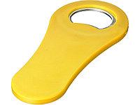 Магнитная открывалка для бутылок Rally, желтый (артикул 11260807)