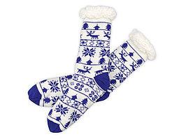 Домашние носки мужские, синий (артикул 791822)