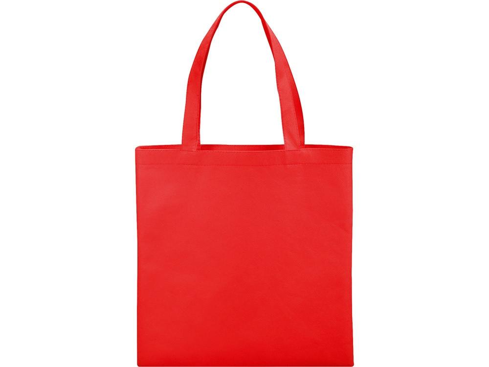 Небольшая нетканая сумка Zeus для конференций, красный (артикул 12011804)