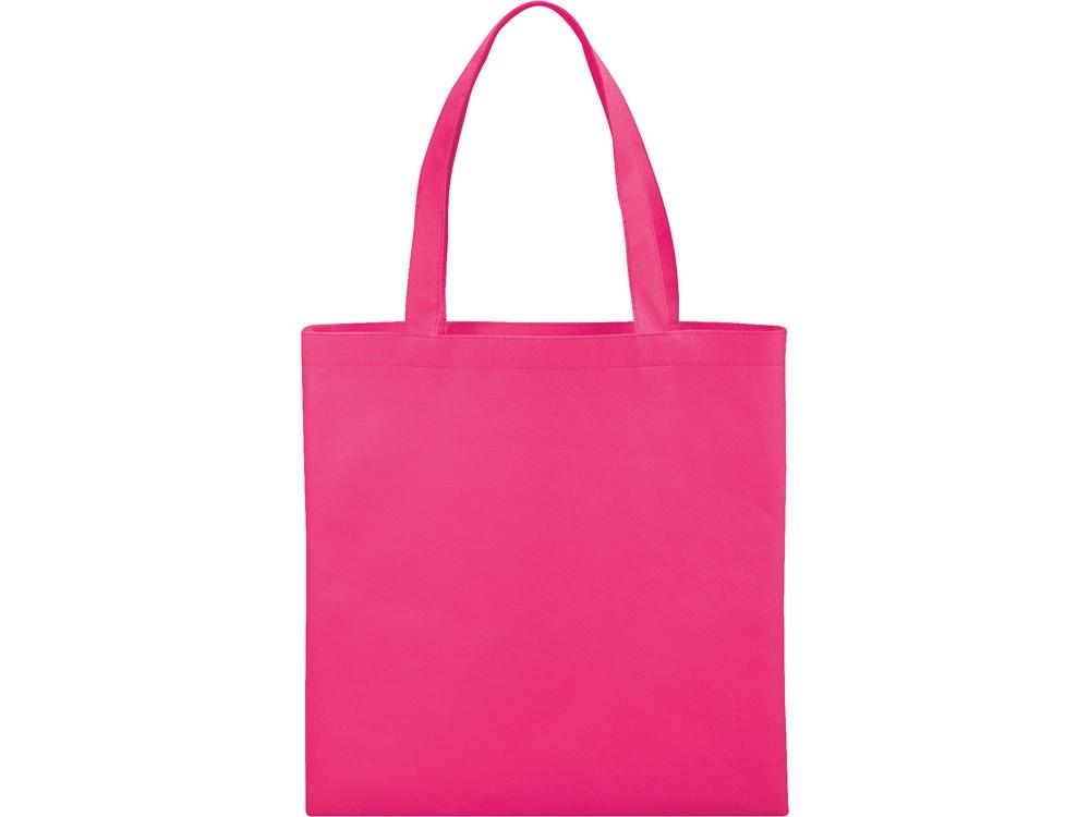 Небольшая нетканая сумка Zeus для конференций, вишневый светлый (артикул 12011807)