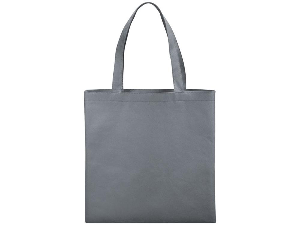 Небольшая нетканая сумка Zeus для конференций, серый (артикул 12011810)