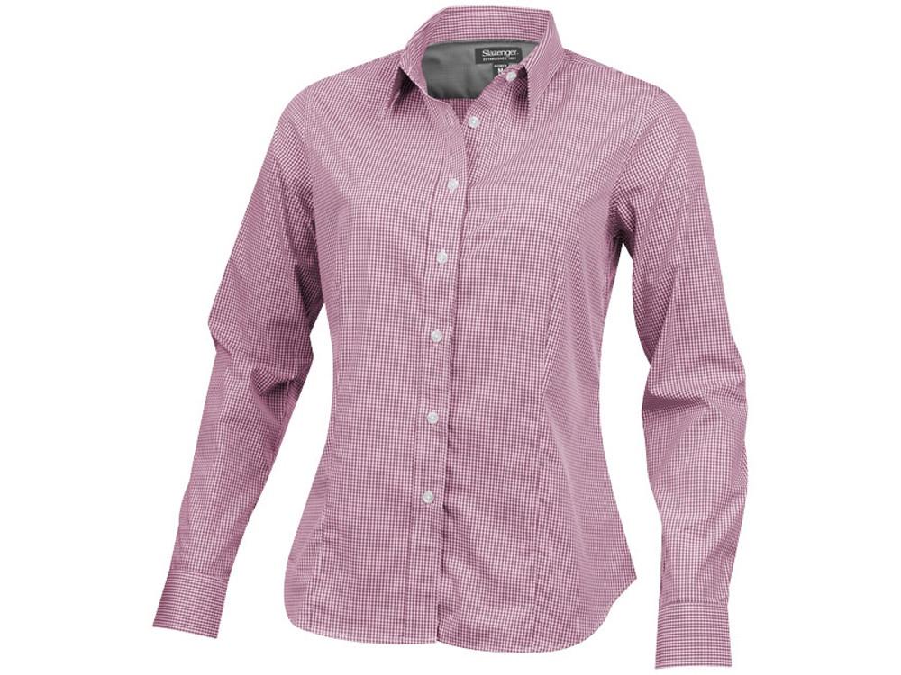 Рубашка Net женская с длинным рукавом, красный (артикул 3316125S)