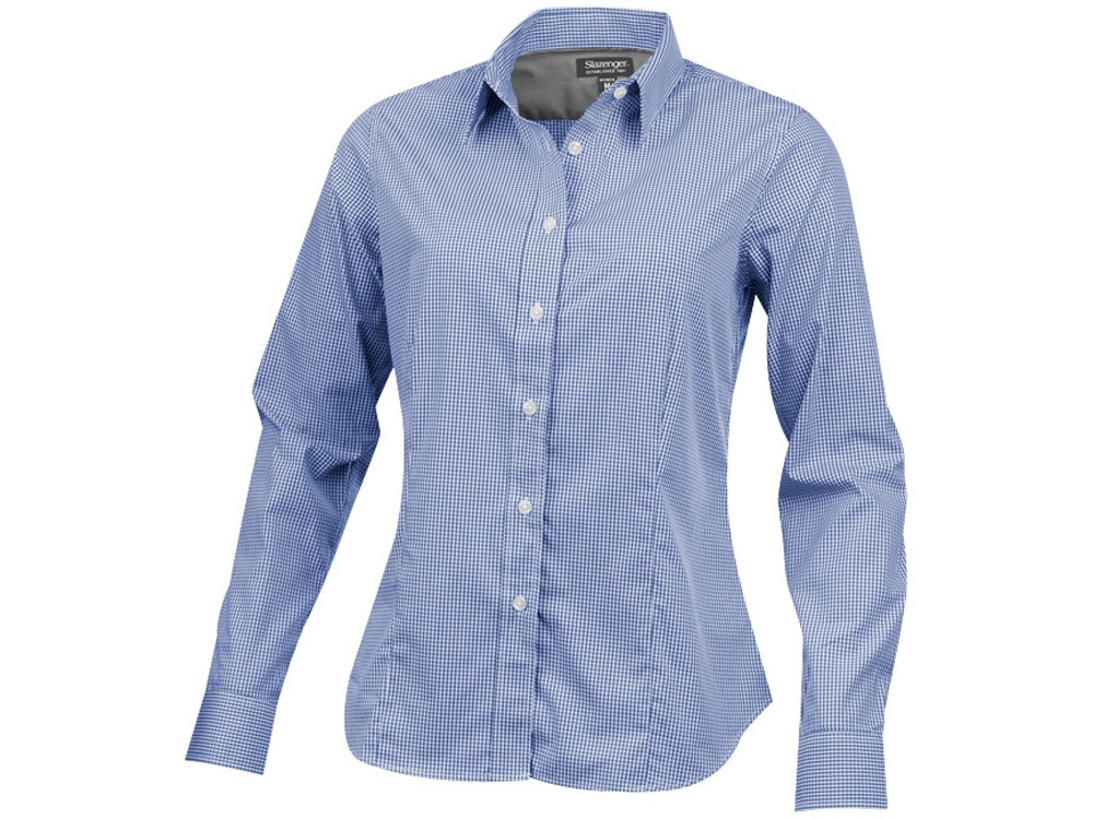 Рубашка Net женская с длинным рукавом, синий (артикул 33161442XL)