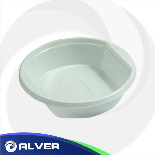 Тарелка глубокая 500 мл, белая 100 шт в упак
