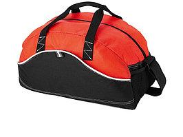 Сумка спортивная Boomerang, черный/красный (артикул 11953201)