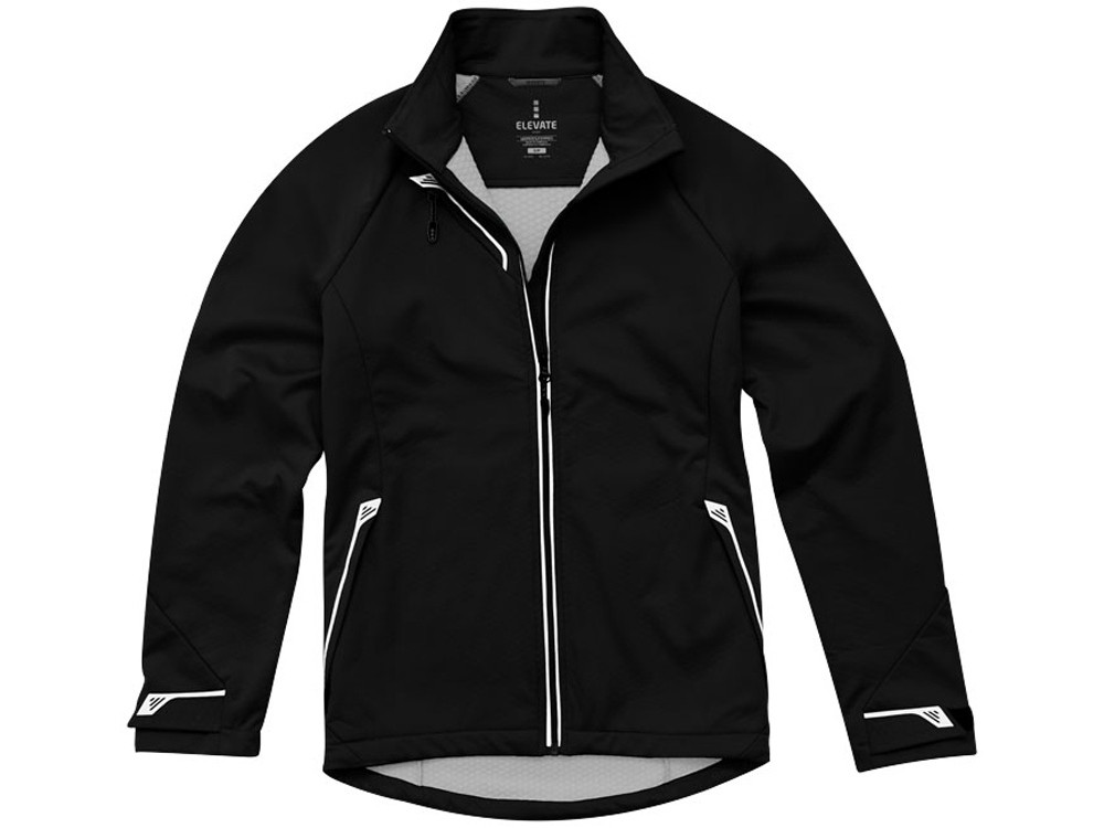 Куртка софтшел Kaputar женская, черный (артикул 3932699S)