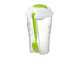 Набор для салата Shakey: салатник, вилка, контейнер для соуса (артикул 11261602)