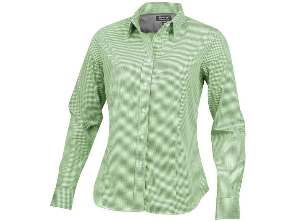 Рубашка Net женская с длинным рукавом, зеленый (артикул 3316167XL)