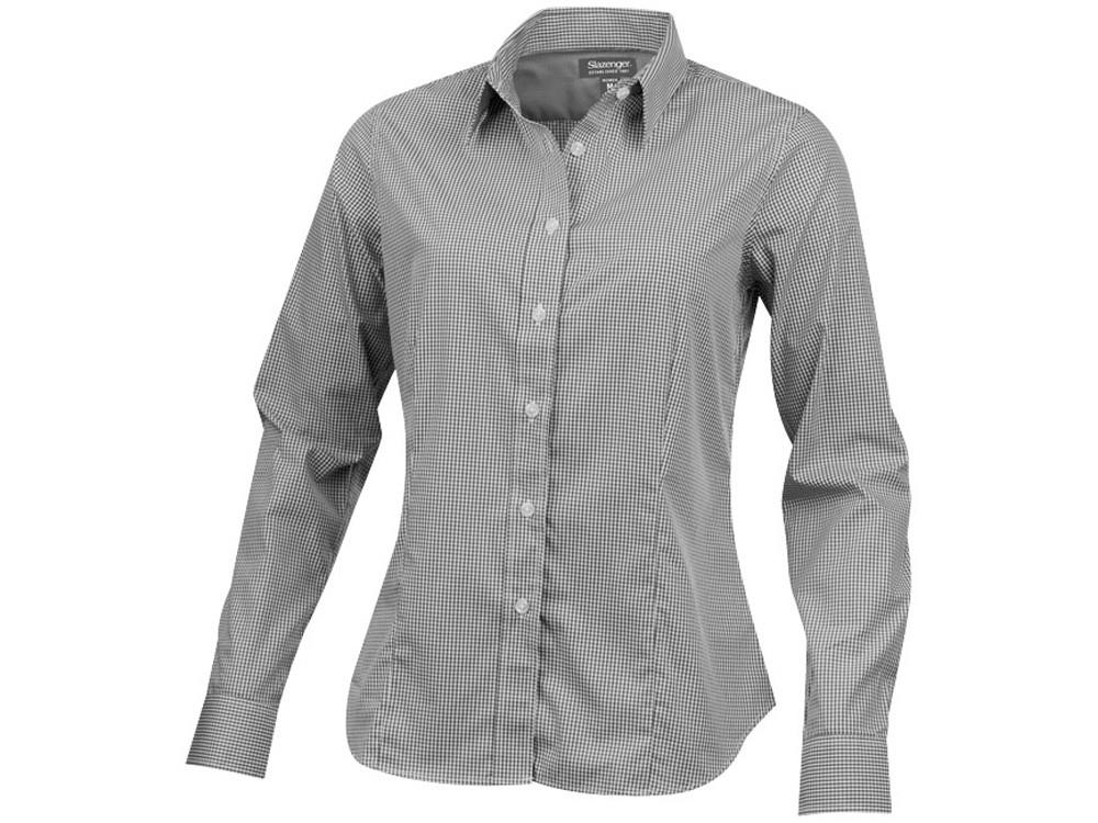 Рубашка Net женская с длинным рукавом, серый (артикул 3316190S)
