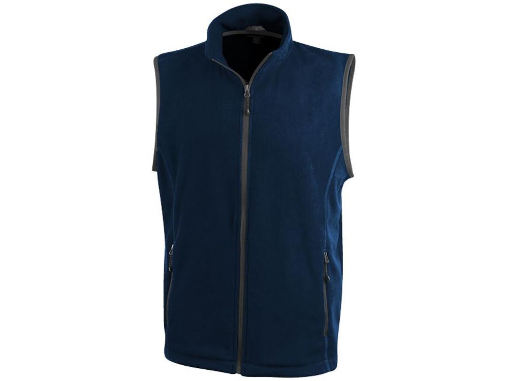 Жилет флисовый Tyndall мужской, темно-синий (артикул 3942549S)
