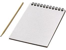 Цветной набор Scratch: блокнот, деревянная ручка (артикул 10705500)