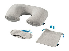 Набор для путешествия Miami  (Jersey): подушка, повязка для глаз, беруши (артикул 11984700)