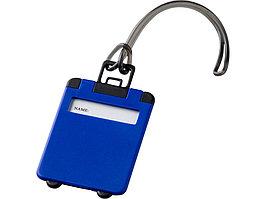 Бирка для багажа Taggy, синий (артикул 11989200)